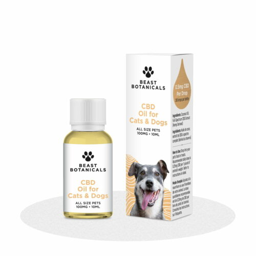 Beast Botanicals, CBD Oil for Cats and Dogs
