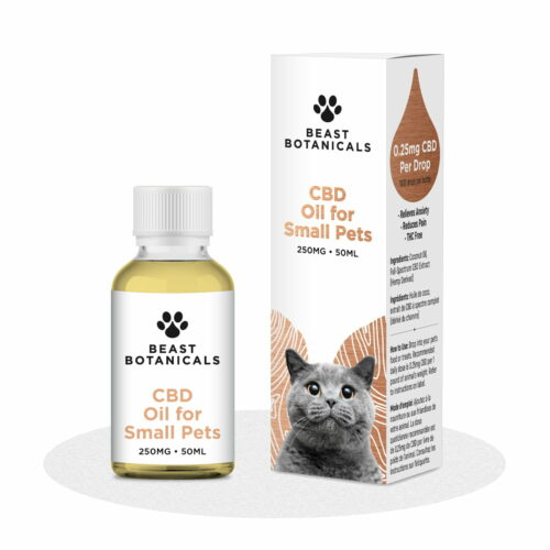 Beast Botanicals, CBD Oil for Small Pets